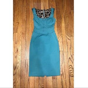 Dolce & Gabbana Dresses - Dolce & Gabbana emerald /teal  bodycon dress